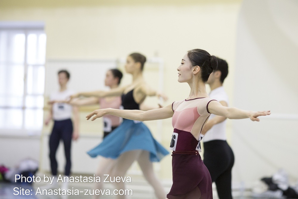 Ballet audition 100
